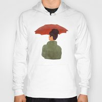 umbrella Hoodies featuring Umbrella by Eveline
