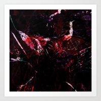 dark souls Art Prints featuring SOULS by La Belle Noire