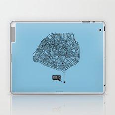 Spidermaps #1 Dark Laptop & iPad Skin