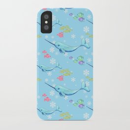 Narwhal and Friends iPhone Case