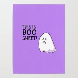 Grumpy Ghost Poster