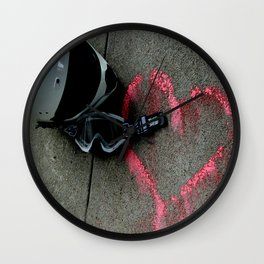 Wear Protection!  Wall Clock