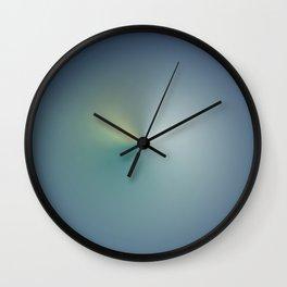 La vague bleu ciel Wall Clock