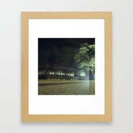 Koyasan temple 1 Framed Art Print