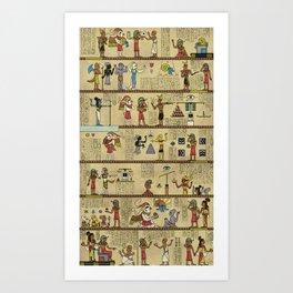 The Origin of Ancient Helixism Art Print