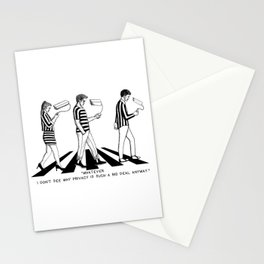 The privacy problem Stationery Cards