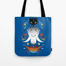 Trained Dragons Tote Bag