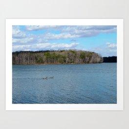 Burke Lake beauty Art Print