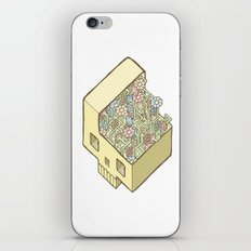 FlowerSkull iPhone & iPod Skin