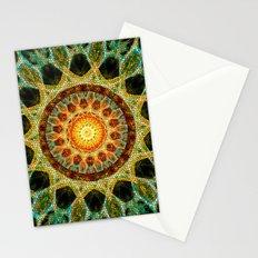 Sun Mandala Mosaic Stationery Cards