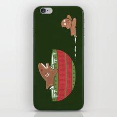 Gingerbread Jaws iPhone Skin
