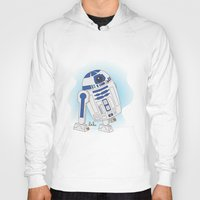 r2d2 Hoodies featuring R2D2 by Lalu
