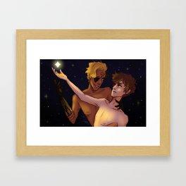 Stargazing Framed Art Print
