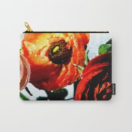 linear light flowers Carry-All Pouch