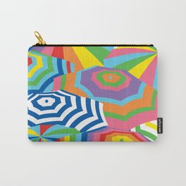 Beach Umbrellas, Bright and Colorful Carry-All Pouch