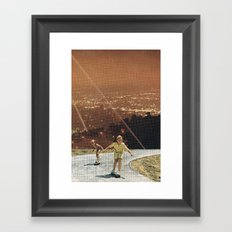 p2h. Framed Art Print