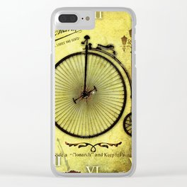 Old Byciclete Clear iPhone Case