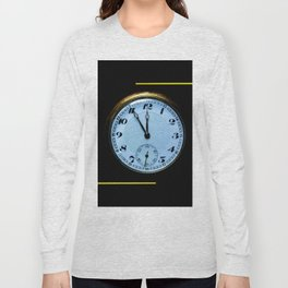 Abstract - pocket watch Long Sleeve T-shirt