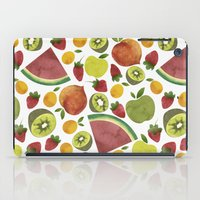 fruits iPad Cases featuring fruits by Ana Rey