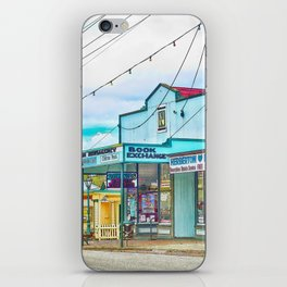 Welcoming village shop iPhone Skin