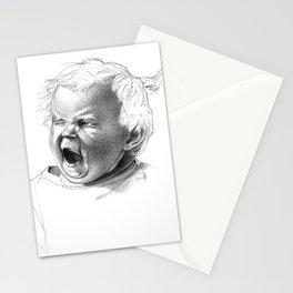 Kinder Yawn Stationery Cards