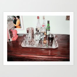 An Old Fashioned, Please? Art Print