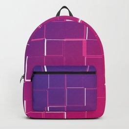 Pink purple gradient art Backpack