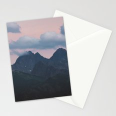 Evening vibes Stationery Cards