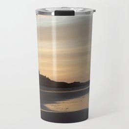 Bamburgh Sunset Travel Mug