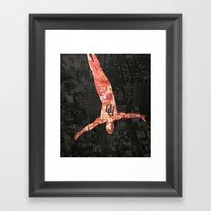 Daredevil poster Framed Art Print