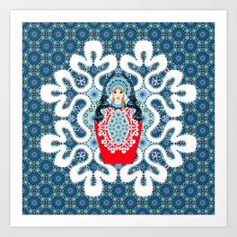 Little Matryoshka Art Print