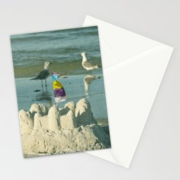 It's better at the beach #2 Stationery Cards
