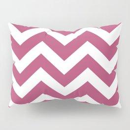Irresistible - purple color -  Zigzag Chevron Pattern Pillow Sham