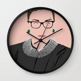 RBG Minimalist Wall Clock