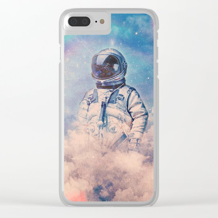 Between the Clouds Clear iPhone Case