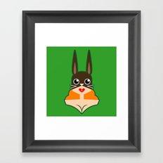 The Hare Framed Art Print