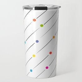 Lines and circles Travel Mug