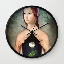 The Rose Wall Clock