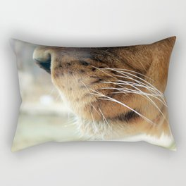 Whiskers. Rectangular Pillow