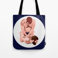boys Tote Bags featuring Boys by IN SEARCH OF GOOD THINGS