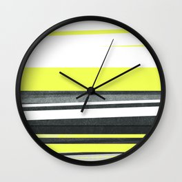strips no.3 Wall Clock