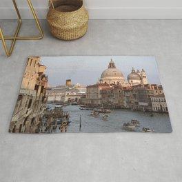 Venice - Water - Channel - Canale Grande - Boats - Venezia. Little sweet moments. Rug