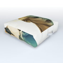 Lost In A Landscape Dream (Portrait) Outdoor Floor Cushion