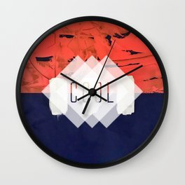 Stitch in Time - cool Wall Clock
