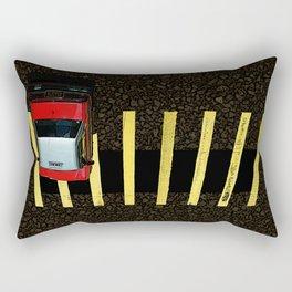 Inverted Taxi Rectangular Pillow