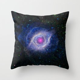 368. Helix Nebula - Unraveling at the Seams Throw Pillow