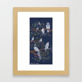 Ghost Birds Framed Art Print
