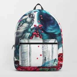 Death of a Greedy Water Badger Backpack