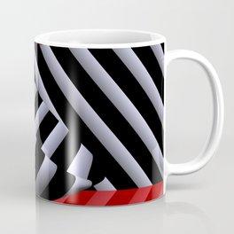 red white black -14- Coffee Mug