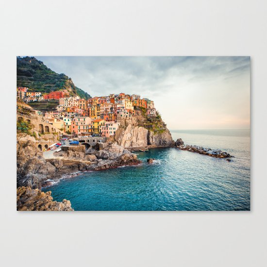 Manarola,Italy Canvas Print